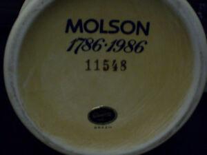 Molsons 200 Aniversary beer stein