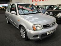 2002 NISSAN MICRA 1.0 Twister From GBP1950+Retail package.