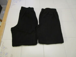 2x Boys Athletic works track pants in size 10/12