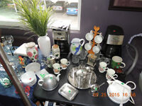 COFFEE AND TEA ITEMS AND ACCESSORIES