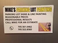 Parking lot painting, call for a quote today