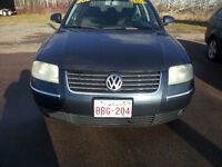 2004 Volkswagen Passat Sedan. LIC AND INSPECTED FOR THE YEAR.