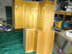 USED Kitchen Cabinets - $250