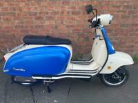 Royal Alloy TG 125cc S LC ABS own this scooter for only £20.71 a week