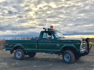 1975 Ford F-250 Pickup Truck 6000 on motor