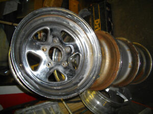 WELD PROSTAR style  wheels 15 inch , gm bolt pattern cragar