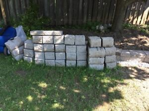 SOLD! - Retaining Wall Blocks For Sale