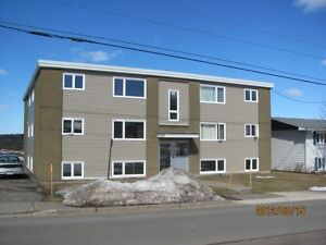 Newly reno, 2 bedroom, heat/light/wifi incl. Near Moncton Hosp.