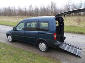2011 61 Vauxhall Combo 1.4 Only 39K, Wheelchair Accessible Disabled Adapted WAV