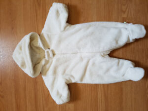 0-3 month unisex snowsuit
