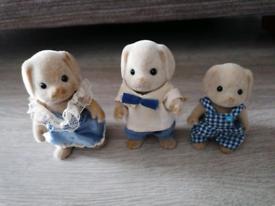 Sylvanian families Dog family