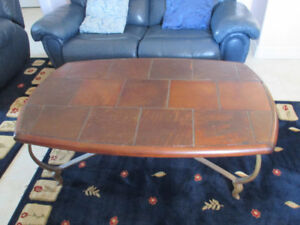 Slate Coffee Table & Slate Pair of End Tables $200 or Best Offer