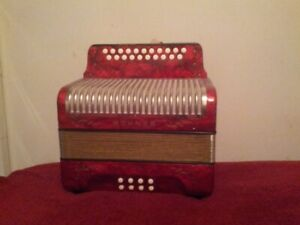 Hohner button-type accordion