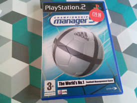 PS2 game championship manager 5