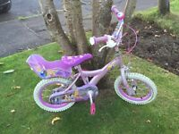 "Disney Princesses 14"" Bike with bell"
