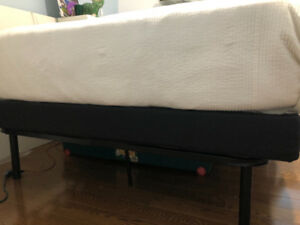 Double box spring (low, 4 inches)