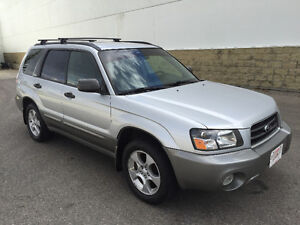 2003 Subaru Forester 2.5 XS, 5spd, AWD, Heated Seats, Only 119km
