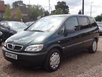 2004 Vauxhall Zafira 1.6 i 16v Life 5dr