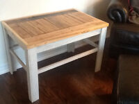 Rustic  end/coffee table ( shabby chic )