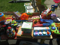 Multifamily Garage Sale!!! Baby clothes, toys and more