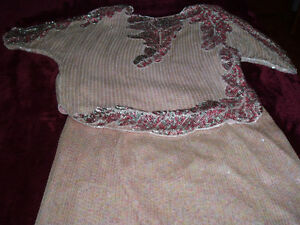 EVENING WEAR 2 PCS SEQUINED DRESS West Island Greater Montréal image 1