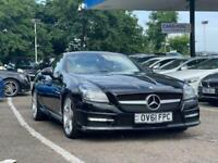 2011 Mercedes-Benz SLK 1.8 SLK200 BLUEEFFICIENCY AMG SPORT ED125 2d 184 BHP Conv