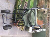 Dragon Carp 2 wheel fishing trolley
