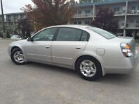 Nissan Altima 2003 selling etest done