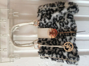 Michael Kors Furry Hand Bag