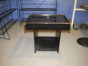 Small table for coffee, end table, hallway, night stand, etc