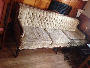 Older couch and chair