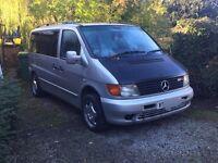 Mercedes Vito traveliner 112 cdi camper conversion?