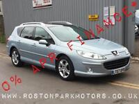 2007 PEUGEOT 407 2.0 HDi 136 Sport 5dr 2YRS FREE CREDIT OFFER