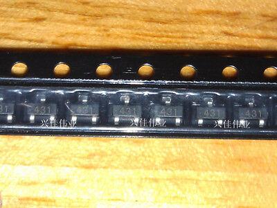 200pcs Tl431a Tl431 431 Sot23-3 Voltage References Adjustable Precision Shunt Re