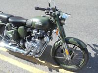 2107 Royal Enfield Classic 500 Euro4 Battle Green