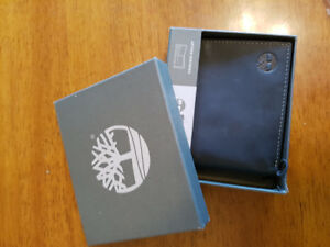 Timberland mens wallet brand new in box