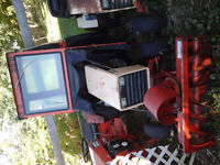 case cab and snowblower only
