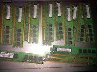 18 pieces of 512MB DDR-2 memory $80 take them all. 3 are samsung