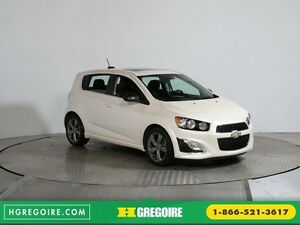 2015 Chevrolet Sonic RS A/C CUIR TOIT MAGS BLUETHOOT