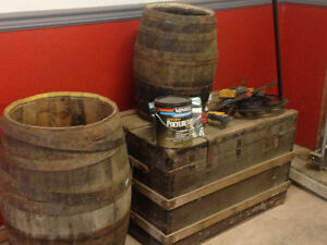 Trunk and barrels