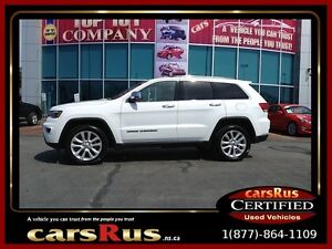2017 Jeep Grand Cherokee Limited With Navigation, Only 9200 Limi