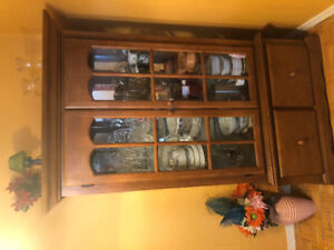 MOVING SALE- DINNING CABINET $130