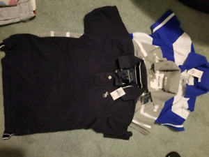 Brand new and used a &f, gap,polo clothes