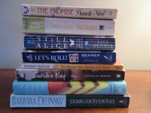 ASSORTMENT OF 8 BOOKS