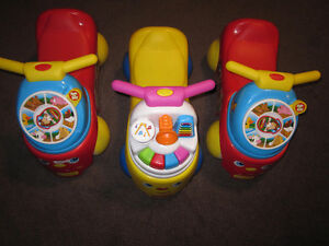 Fisher-Price Little People See 'N Say Ride On Toys - Red or Yell