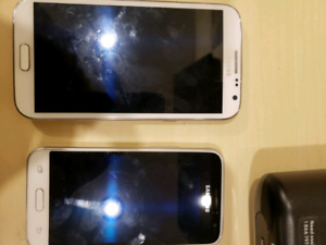 Two Samsung Phones For Sale