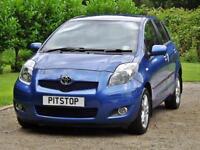 Toyota Yaris Tr 1.3 VVT-I Mmt 5dr PETROL SEMIAUTOMATIC 2010/60