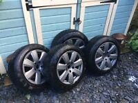 Alloys +Winter Tyres