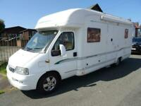 Bessacarr E760 4 berth 2 belt rear French bed low profile motorhome for sale