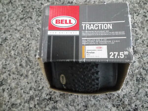 "27.5 "" Bell Mountain Bike Tire and Bike Cover (new in box)"